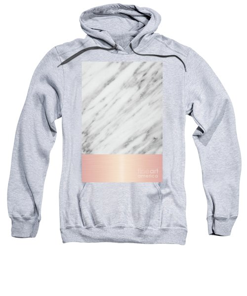 Real Italian Marble And Pink Sweatshirt