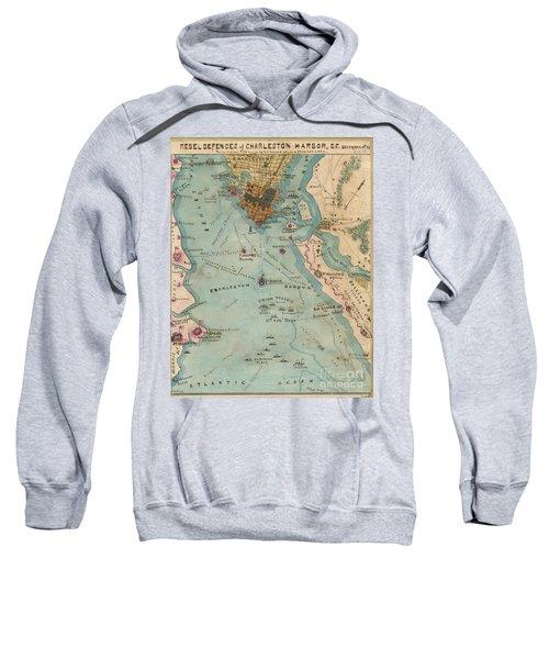 Rebel Defenses Of Charleston Harbor Sweatshirt