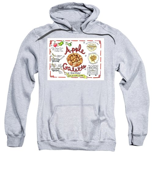 Recipe- Apple Galette Sweatshirt