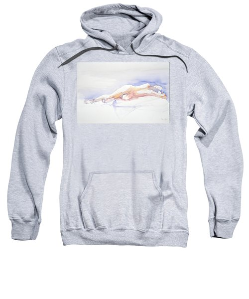 Reclining Figure  Sweatshirt