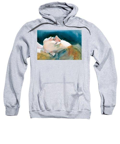 Reclining Head Study Sweatshirt