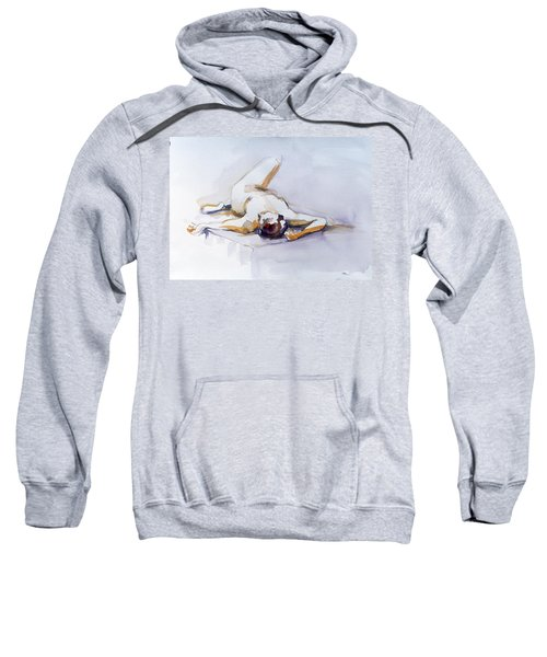Reclining Study 6 Sweatshirt