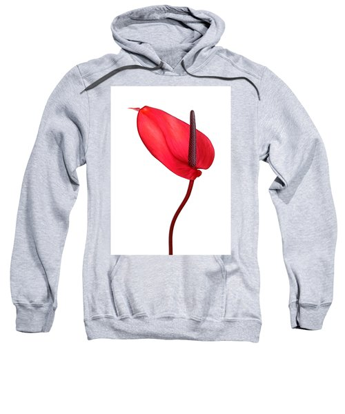 Red Anthrium Sweatshirt