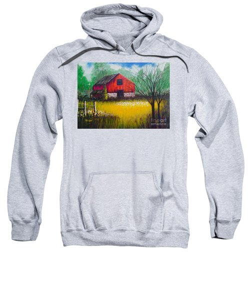 Red Barn  Sweatshirt