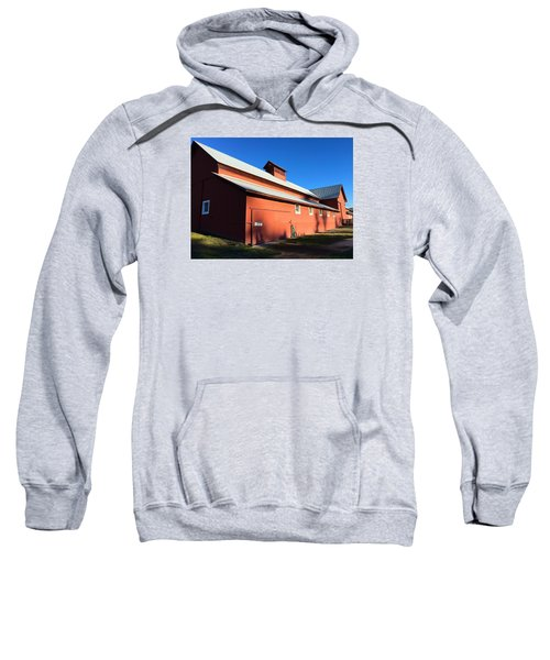 Red Barn, Blue Sky Sweatshirt