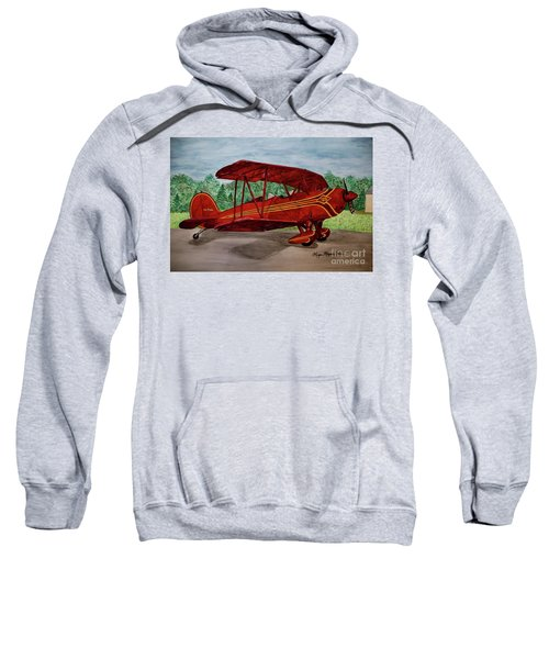 Red Biplane Sweatshirt