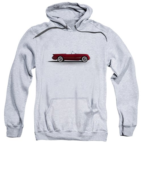 Red C1 Convertible Sweatshirt
