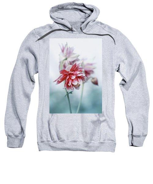 Red Columbines Sweatshirt