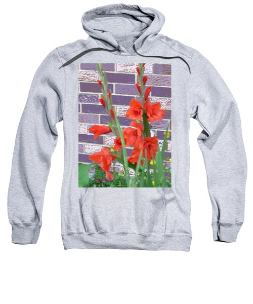 Red Gladiolas Sweatshirt