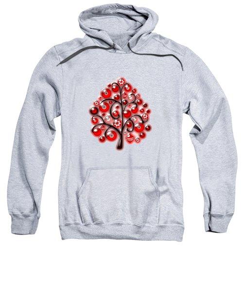 Red Glass Ornaments Sweatshirt