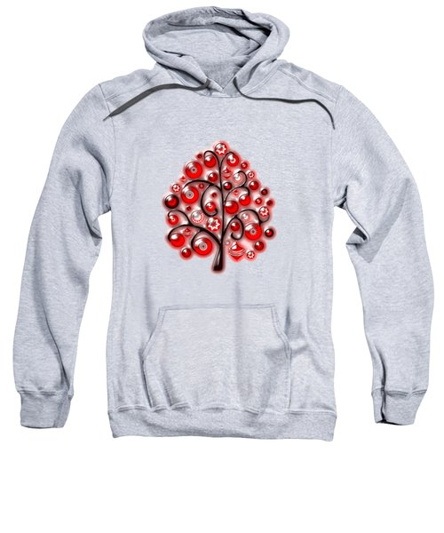 Red Glass Ornaments Sweatshirt