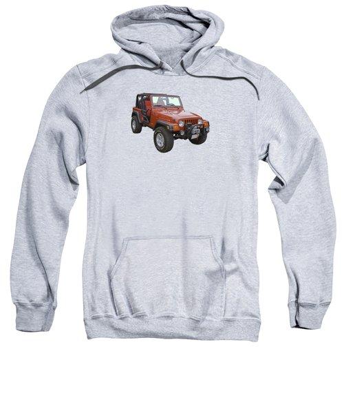 Red Jeep Wrangler Rubicon Sweatshirt