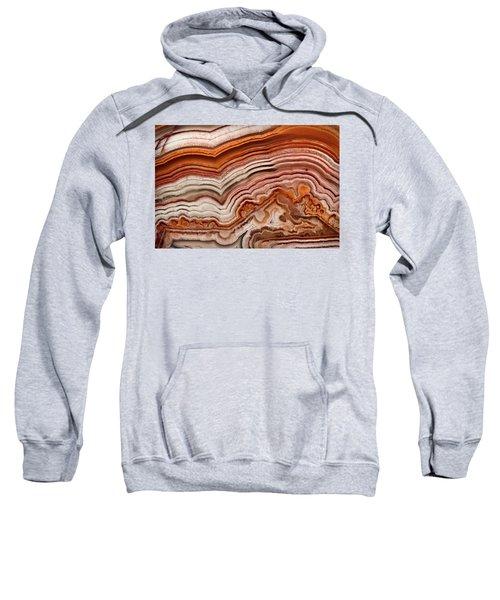 Red Laguna Lace Agate Sweatshirt