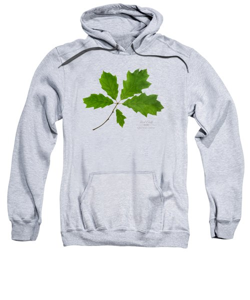 Red Oak Leaves Sweatshirt