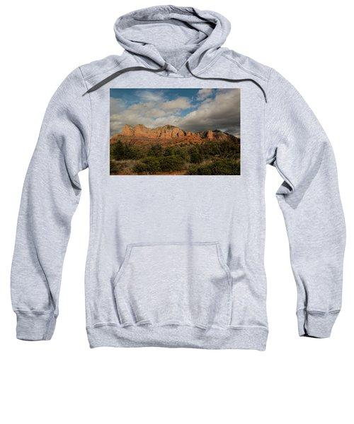 Red Rock Country Sedona Arizona 3 Sweatshirt by David Haskett