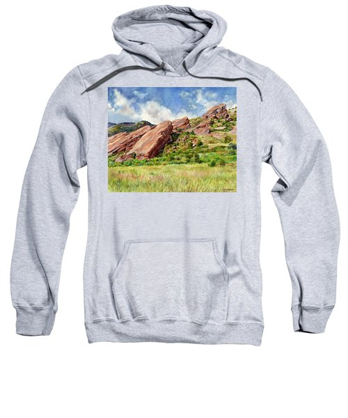 Red Rocks Amphitheatre Sweatshirt