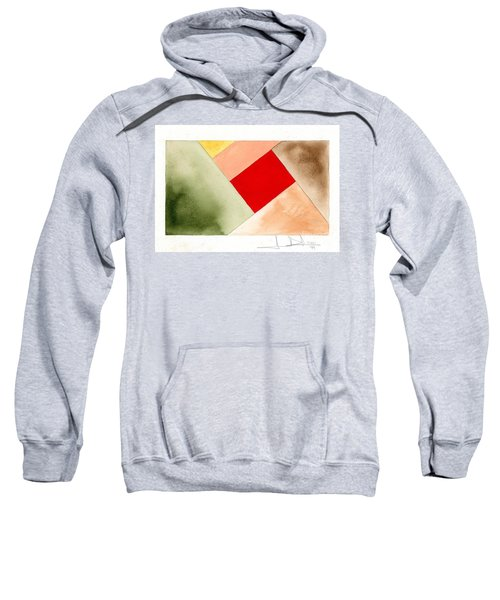 Red Square Tanned Sweatshirt