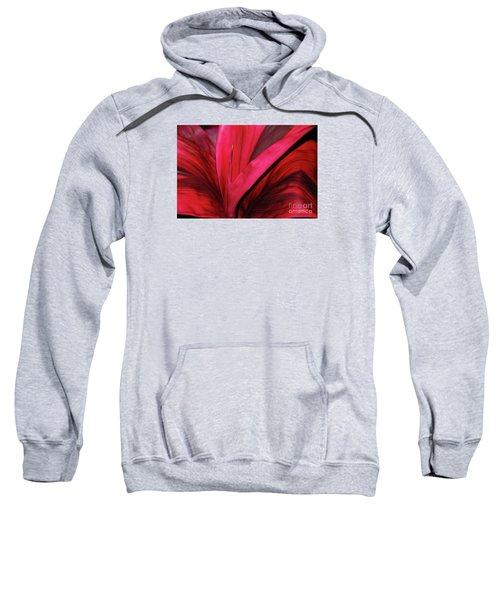 Red Ti Leaf Plant - Hawaii Sweatshirt