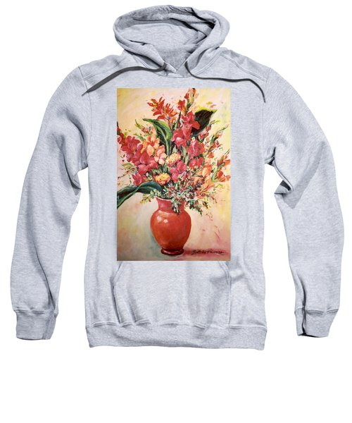 Red Vase Sweatshirt