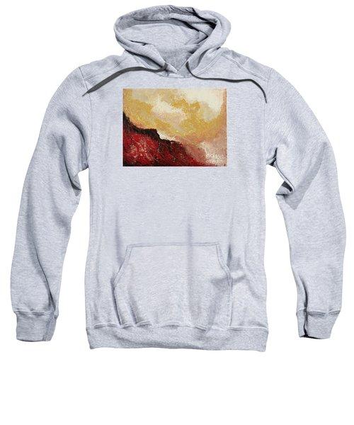 Red Waves Sweatshirt