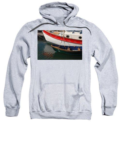 Red White And Blue Sweatshirt