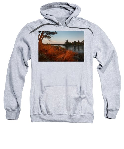 Red Wild Grass Georgian Bay Sweatshirt