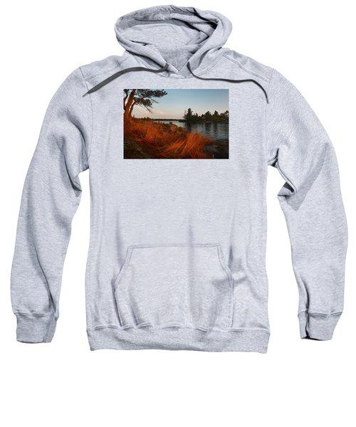 Red Wild Grass Georgian Bay Sweatshirt