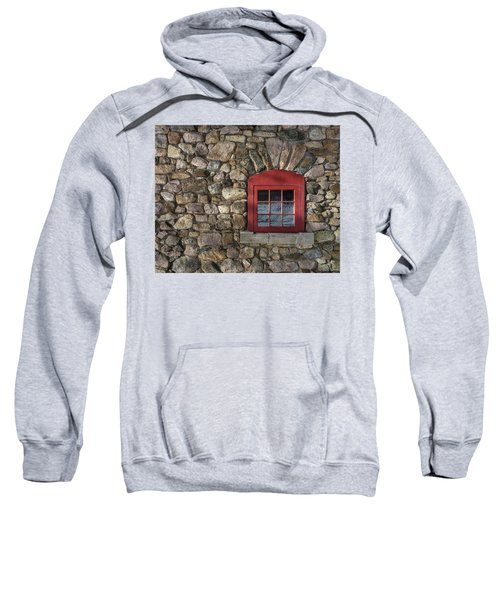 Red Window Sweatshirt