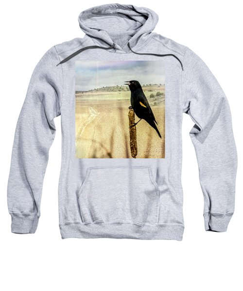 Red-winged Blackbird Sweatshirt