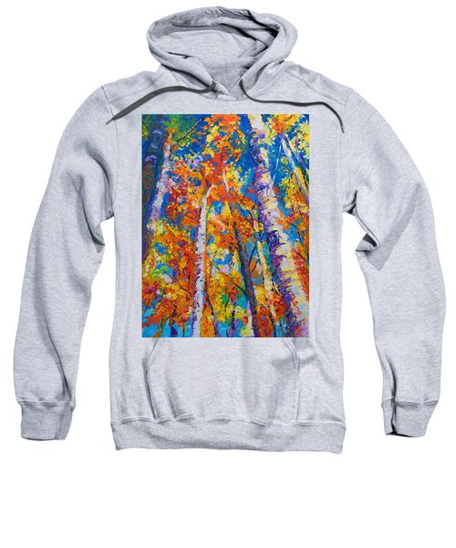 Redemption - Fall Birch And Aspen Sweatshirt