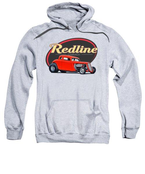 Redline Hot Rod Garage Sweatshirt