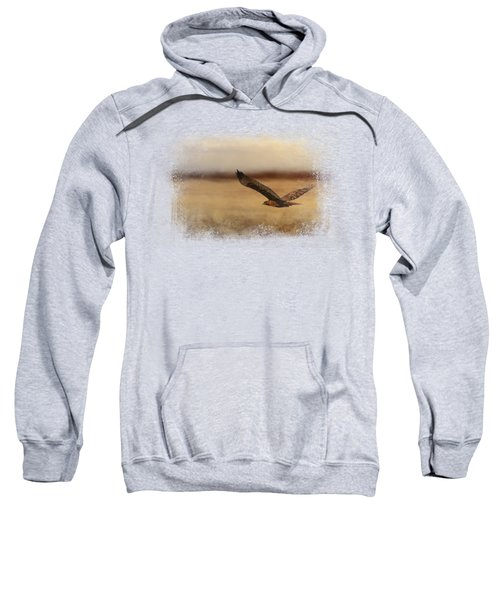 Redtail In The Field Sweatshirt by Jai Johnson