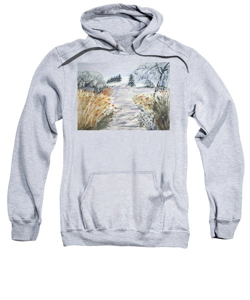 Reeds On The Riverbank No.2 Sweatshirt