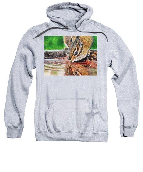 Reflecting On The Day Sweatshirt