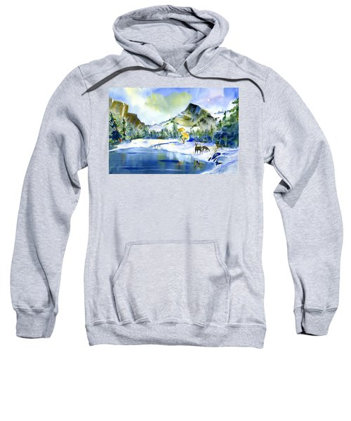Reflecting Yosemite Sweatshirt