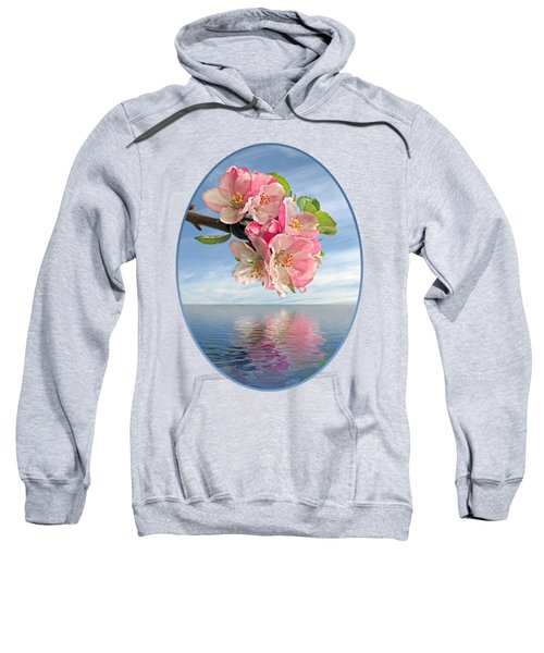 Reflections Of Spring At Apple Blossom Time Sweatshirt
