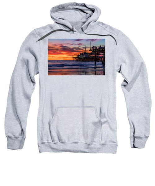 Reflections Of The Pier Sweatshirt