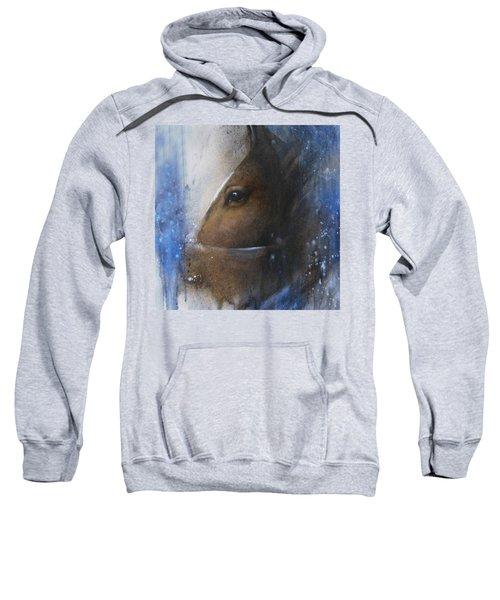 Reflective Horse Sweatshirt