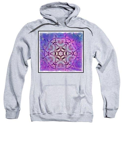 Reiki Infused Healing Hands Mandala Sweatshirt