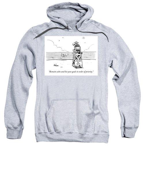 Remain Calm Sweatshirt