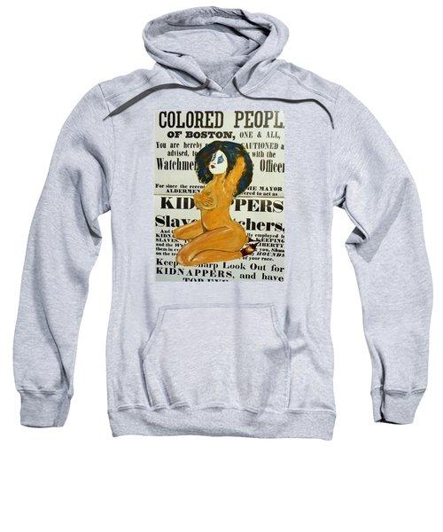 Renee  Caution Sweatshirt