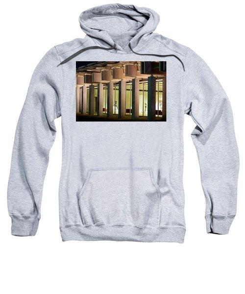 Renzo Piano Building Kimball Museum Sweatshirt