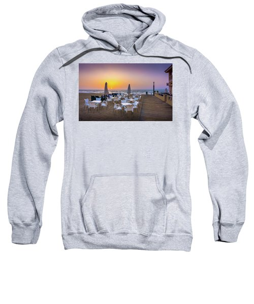 Restaurant Sunrise, Spain. Sweatshirt