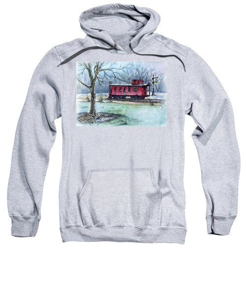 Retired Red Caboose Sweatshirt