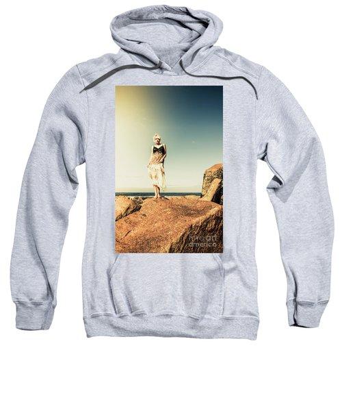 Retro Beach Fashions Sweatshirt