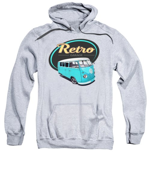 Retro Garage Bus Sweatshirt
