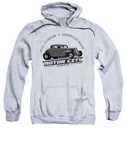 Retro Hot Rod Garage Sweatshirt