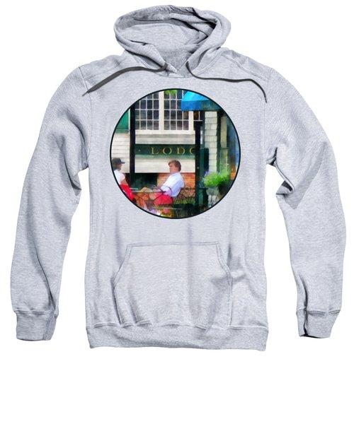 Rhode Island - Cafe Newport Ri Sweatshirt