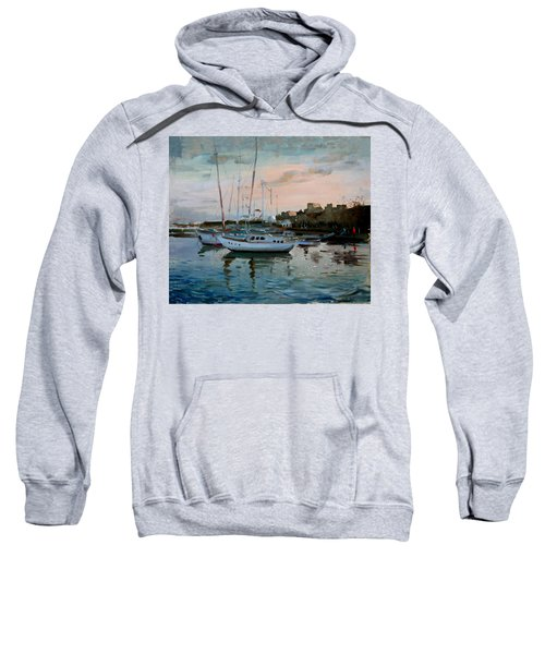 Rhodes Mandraki Harbour Sweatshirt