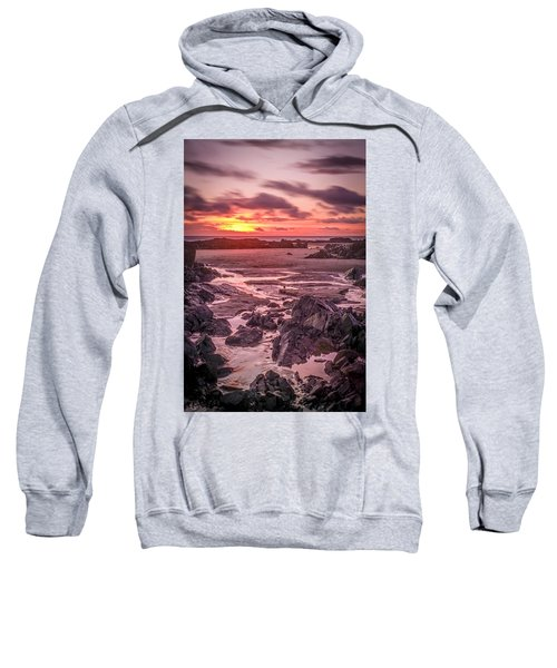 Rhosneigr Beach At Sunset Sweatshirt